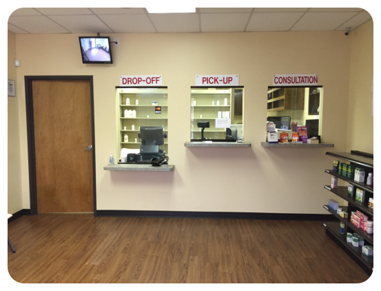 Pharmacy Room with medicines